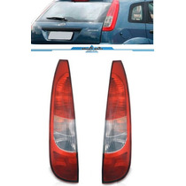 Par Lanterna Traseira Fiesta Hatch 2002 2003 2004 2005 2006