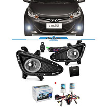 Kit Farol Milha Hb20 Hyundai Hatch & Sedan Com Kit Xenon