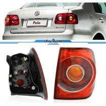 Lanterna Polo Sedan 2007 2008 2009 2010 11 Ld Canto Original