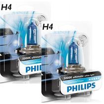 Lâmpada Xenon Diamond H1,h3,h4,h7,h11,hb3,hb4 Philips 5000k