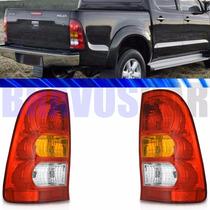Par Lanterna Traseira Hilux Pickup 2005 2006 2007 2008 2009