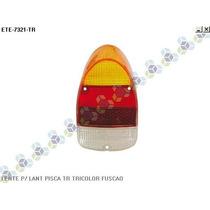 Lente P/ Lanterna Pisca Traseiro Tricolor Fusca (fuscão)