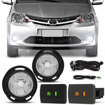 Kit Farol Milha Toyota Etios Hatch Sedan 2012 2013 2014 2015