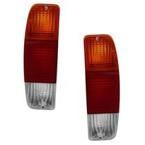 Lanterna Traseira Pampa F1000 F100 Tricolor Par Frete Grátis
