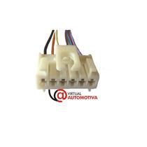 Soquete Plug Conector Lanterna Traseira Palio Fire