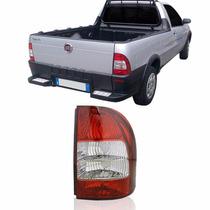 Lanterna Traseira Fiat Strada 2005 Até 2007 Bicolor Flex Ld