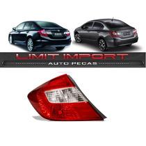 Lanterna Honda Civic Esquerdo Ano 2012 2013 2014 2015