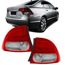 Lanterna New Civic Honda 2007 2008 2009 2010 2011 Par