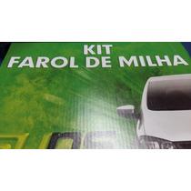 Farol De Milha Gol G5 Chicote Botão Original Mixacessorios