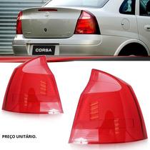 Lanterna Traseira Corsa Sedan Ré Rosa 2008 2009 2010 2011