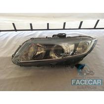 Farol New Civic Honda 2013 Original Lado Esquerdo