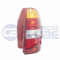 Lanterna Traseira Palio 00 A 04 Carcaça Vermelha Ld Arteb