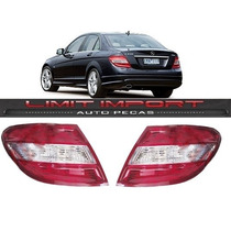 Par Lanterna Mercedes C180 C200 C280 Ano 2008 2009 2010 2011