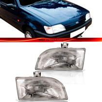 Farol Ford Fiesta 1993 1994 1995 1996 94 95 96 Foco Simples