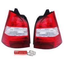 Par Lanterna Traseira Nissan Livina Nova 2009 2010 2011
