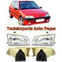 Par Farol Peugeot 106 Ano 92 93 94 95 96 Novo Depo