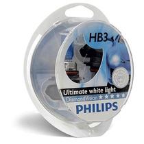 Kit Lampada Philips Diamond Vision Hb3 Efeito Xenon 5000k