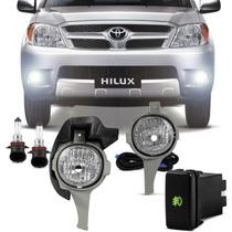 Kit Farol Milha Auxiliar Toyota Hilux Srv 06 07 08 Pick Up