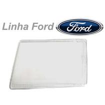 _lente Farol Dianteiro Ford Escort 83 84 85 86 Vidro Le