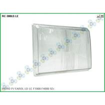 Lente (vidro) Farol F1000/f4000 84/85/86/87/88/90/91 Alto