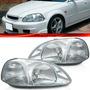 Farol Civic 1996 1997 1998 96 97 98 Cromado