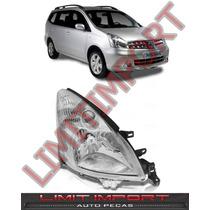 Farol Livina Nissan Direito Ano 2009 2010 2011 2012 2013