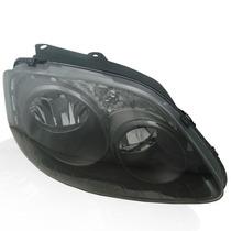 Farol Fox 06 07 08 09 Foco Duplo Mascara Negra Novo