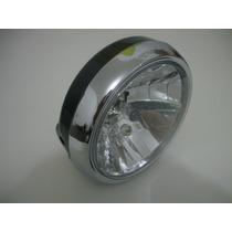 Farol Completo Yes 125 Suzuki C/lampadas/fios/soquetes