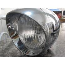 Farol Bullet Para Motos Custom E Triciclos - Mod. Bala