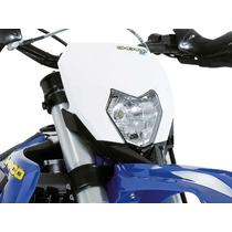 Carenagem Do Farol Para Moto Sherco Motocross Trilha Branco