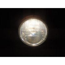 Farol Fusca C/ Lampada H4 Super Branca E Led Na Lanterna
