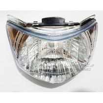 Bloco Do Farol C125 Biz 2006/10 Com Lente Cristal Aquarius