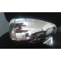 Farol Central Para Moto Custom Cromado