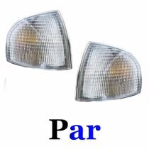 Par Lanterna Dianteira Pisca Gol Bola 95 A99 Cristal M.cibié