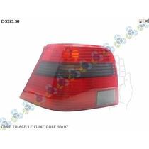 Lanterna Traseira Acrilica Fume Golf 99 / 07