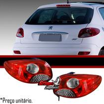 Par Lanterna Peugeot 207 2008 2009 2010 2011 2012 Hatch