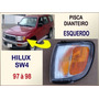 Pisca Dianteiro Toyota Hilux Sw4 1997 À 1998 Reprod Esquerdo