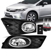 Kit Farol Milha Honda New Civic 2012 2013 2014 + Kit Xenon