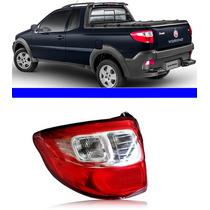 Lanterna Traseira Fiat Strada 2013 2014 Lado Esquerdo