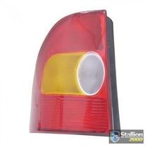 Lanterna Traseira Fiat Strada 98 A 00 Tricolor -produto Novo