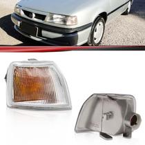 Lanterna Dianteira Pisca Vectra 96 95 94 93 Com Cupula Ambar