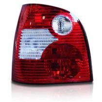 Lanterna Traseira Polo Hatch Pisca Cristal 02 A 06 + Brinde