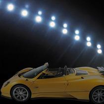 Fita Leds Flexivel 30 Leds Smd 60 Cm Tunnig Farol Da Audi.