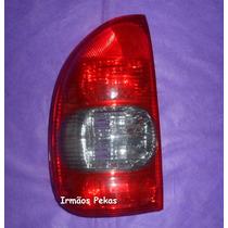 Lanterna Traseira Corsa Hatch 4 Pts Pick-up 00 À 03 Ré Fumê