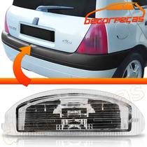 Lanterna Luz Placa Clio Hatch 1999 A 2012 Com Soquete