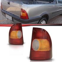 Lanterna Traseira Strada 96 97 98 99 2000 Tricolor