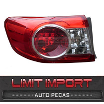 Lanterna Corolla Gli Toyota Canto Esquerdo Ano 2012 2013