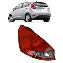 Lanterna Traseira New Fiesta 2013 2014 Hatch Esquerda