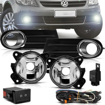 Kit Milha Neblina Do Gol Saveiro Voyage G5 + Kit Xenon