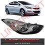 Farol Hyundai Elantra Lado Direito Ano 2011 2012 2013 2014